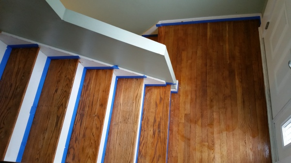 Strip & Refinish Stairs-1
